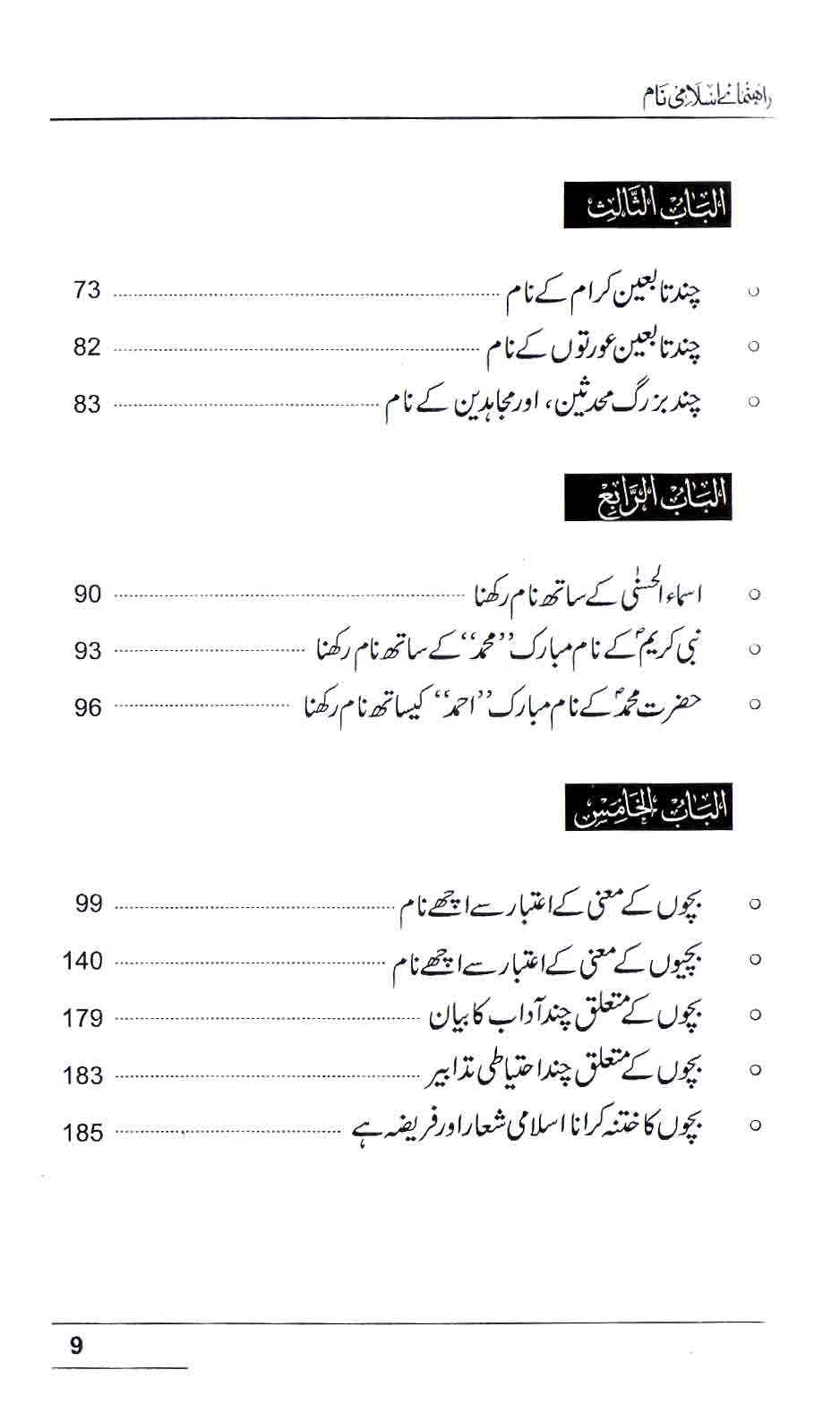 Muslim Names With Meaning Book In Urdu