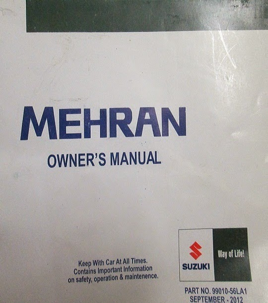 Suzuki Mehran Maintenance Manual Pdf Pdf Books Online